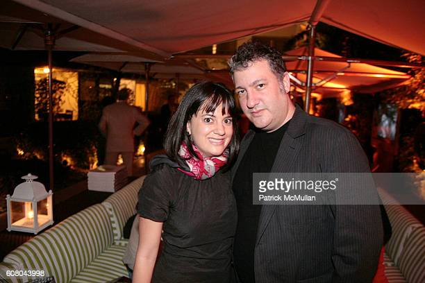 Erin Newberg and Spencer Tunick attend HERMES Invites You to Discover Contemporary Video in Asia at Sagamore Hotel on December 8 2006 in Miami Beach...