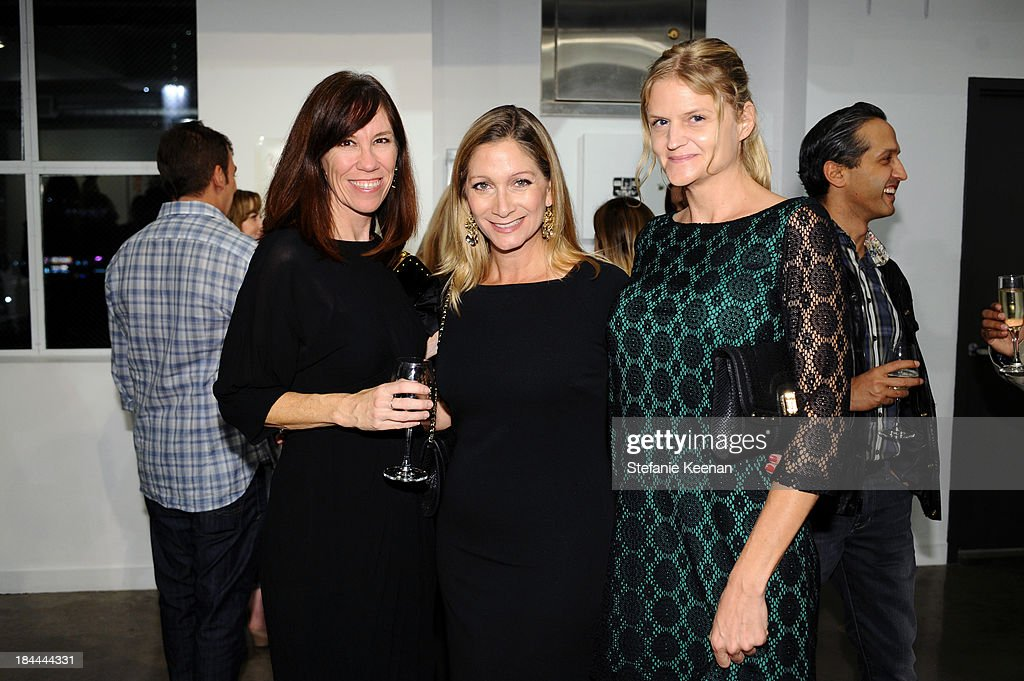 Erin, Nicole kumar and Jessica Bloomquist attend The Mistake Room's Benefit Auction on October 13, 2013 in Los Angeles, California.