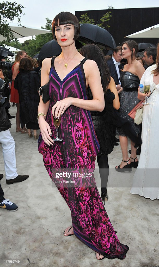 Erin O'Conner attends The Serpentine Gallery Summer Party on June 28, 2011 in London, England.