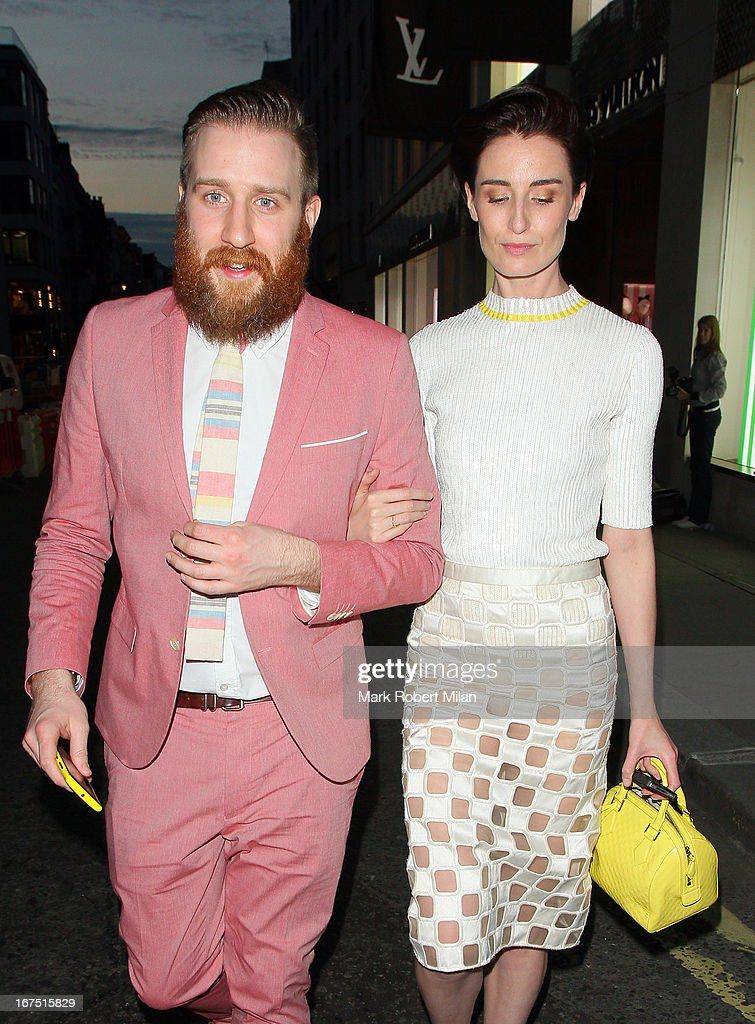 Erin O'Connor at Louis Vuitton on April 25, 2013 in London, England.