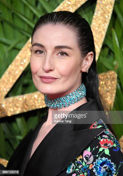 Erin O'Connor attends The Fashion Awards 2017 in partnership with Swarovski at Royal Albert Hall on December 4 2017 in London England