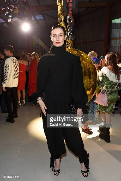 Erin O'Connor attends the launch of Tiffany Co City Hardwear Collection on May 10 2017 in London England