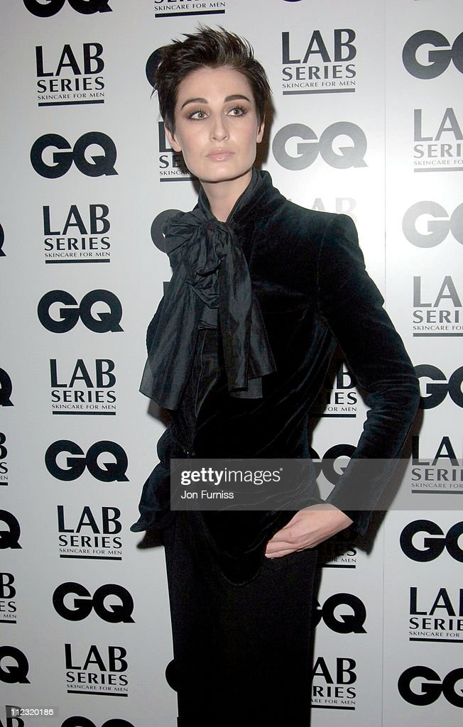 Erin O'Connor during GQ Men of the Year Awards - Inside Arrivals at Royal Opera House in London, Great Britain.