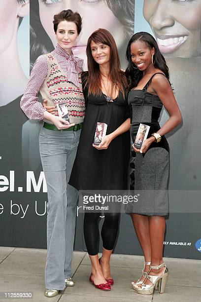 Erin O'Connor Helena Christensen and Jamelia Launch ModelMe a range of designer hair care products in partnership with Toni Guy at a photocall...