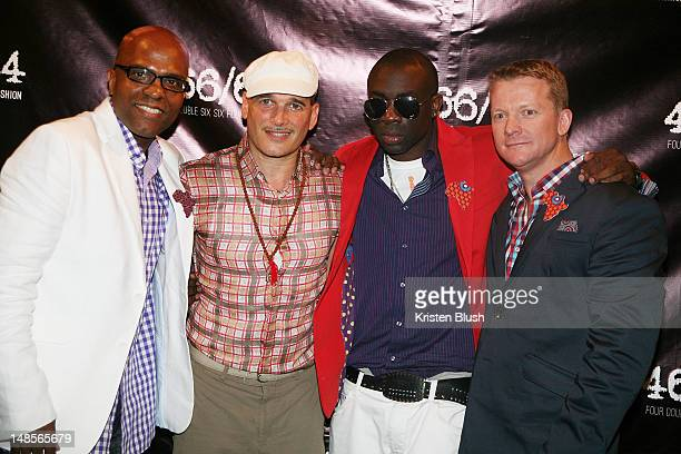 Erin Patton Phillip Bloch Sam Sarpong and Wayne Bebb attend the 466/64 Fashion Collection Preview In Celebration Of Nelson Mandela International Day...