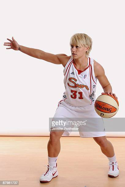Erin Phillips of the Connecticut Sun poses for a portrait during the WNBA Media Day on May 18 2009 at Connecticut College in Uncasville Connecticut...