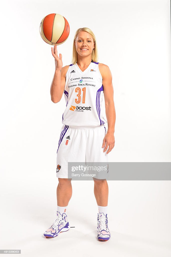Erin Phillips #31 of the Phoenix Mercury poses for a photo during the Phoenix Mercury Media Day on May 13, 2014 at US Airways Center in Phoenix, Arizona.