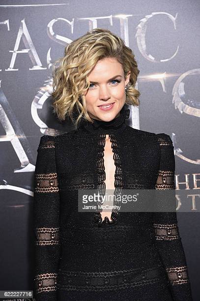 Erin Richards attends the 'Fantastic Beasts And Where To Find Them' World Premiere at Alice Tully Hall Lincoln Center on November 10 2016 in New York...