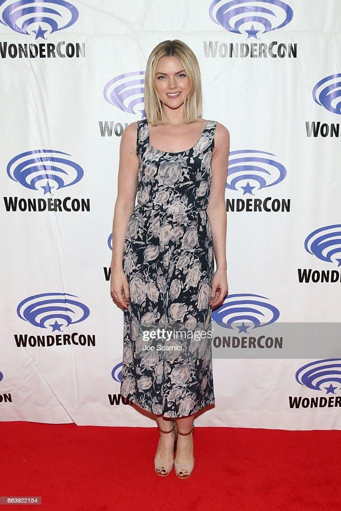 Erin Richards attends the 'Gotham' press line at WonderCon 2017 - Day 3 at Anaheim Convention Center on April 2, 2017 in Anaheim, California.