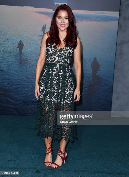 Erin Robinson arrives at the Premiere Of Warner Bros Pictures' 'Kong Skull Island' at Dolby Theatre on March 8 2017 in Hollywood California