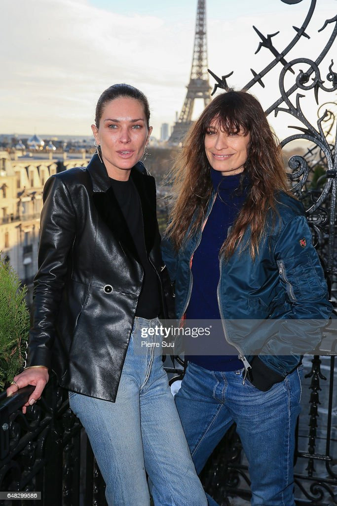Erin Wasson and Caroline de Maigret attend the Wasson Fine Jewelry presentation as part of the Paris Fashion Week Womenswear Fall/Winter 2017/2018 on March 5, 2017 in Paris, France.