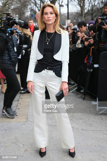 Erin Wasson arrives at the Chanel show as part of the Paris Fashion Week Womenswear Fall/Winter 2017/2018 on March 7 2017 in Paris France
