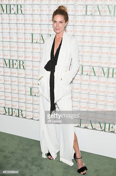 Erin Wasson attends La Mer Celebrates 50 Years of an Icon at Siren Studios on October 13 2015 in Hollywood California