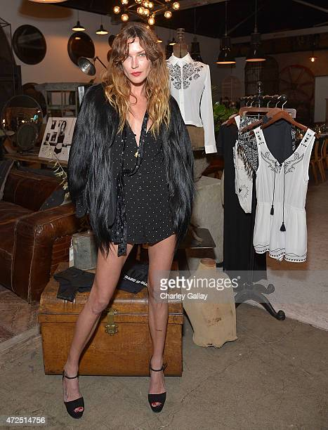 Erin Wasson hosts a dinner to launch her collection for PacSun on May 7 2015 in Los Angeles California