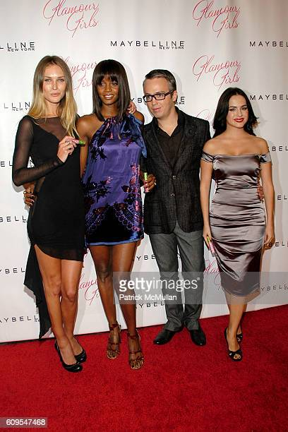 Erin Wasson Tomiko Fraser Troy Surratt and Danna Garcia attend MAYBELLINE NEW YORK Book Launch Party for PATRICK McMULLAN's new book GLAMOUR GIRLS at...