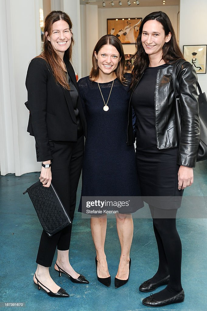 Erin Wright, Abby Bangser and Bettina Korek attend Director's Circle Celebrates Wear LACMA, Sponsored By NET-A-PORTER And W at LACMA on April 24, 2013 in Los Angeles, California.