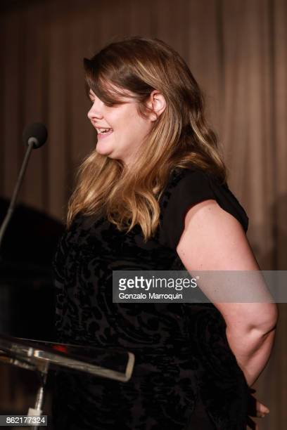 Erin Young during the Sing for Hope Gala 2017 at Tribeca Rooftop on October 16 2017 in New York City
