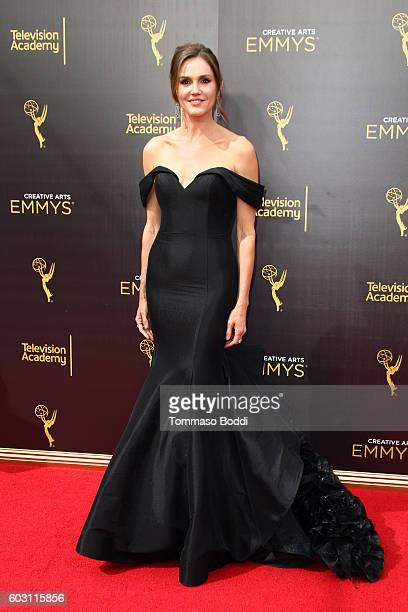 Erinn Hayes attends the 2016 Creative Arts Emmy Awards held at Microsoft Theater on September 11 2016 in Los Angeles California