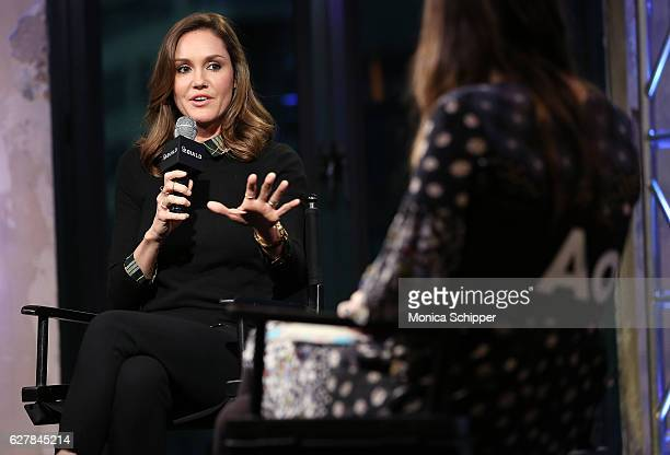 Erinn Hayes speaks at Build Presents Actress Erinn Hayes Discussing 'Kevin Can Wait' at AOL HQ on December 5 2016 in New York City