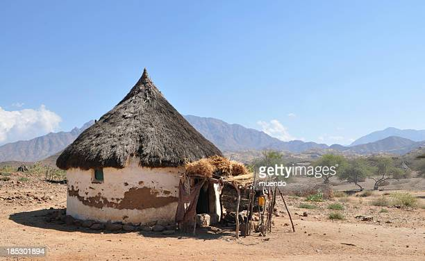 Eritrea, Traditional African Hut