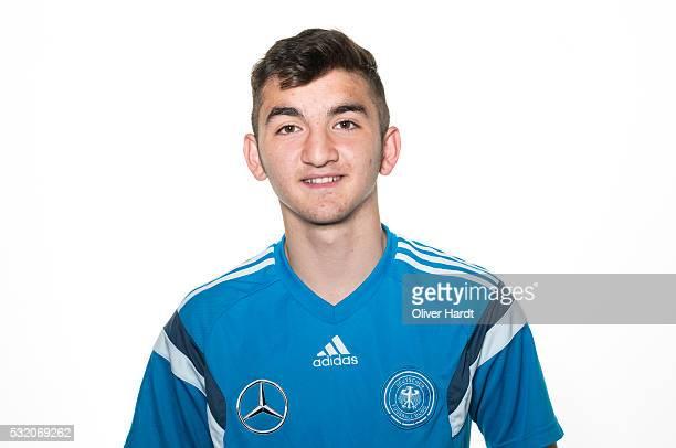 Erkan Eyibil of Germany poses during U15 Germany Team Presentation on May 17 2016 in Leer Germany