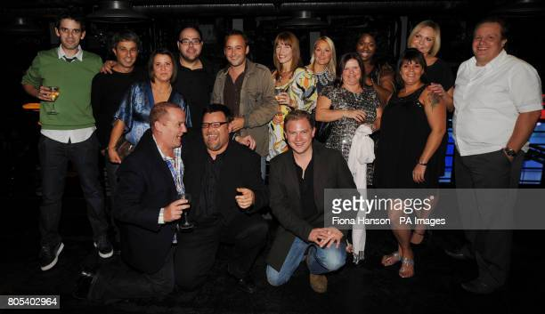 Erkan Mustafa joined fellow Grange Hill cast members at a reunion to celebrate 30 years of the children's television programme which ended last year