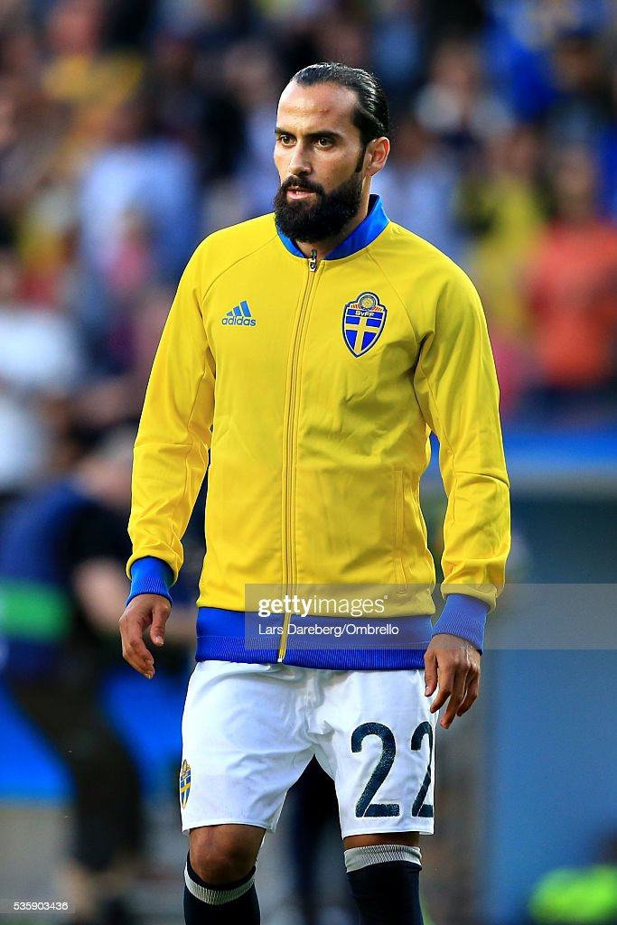 Erkan Zengin of Sweden during the international friendly match between Sweden and Slovenia on May 30, 2016 in Malmo, Sweden.