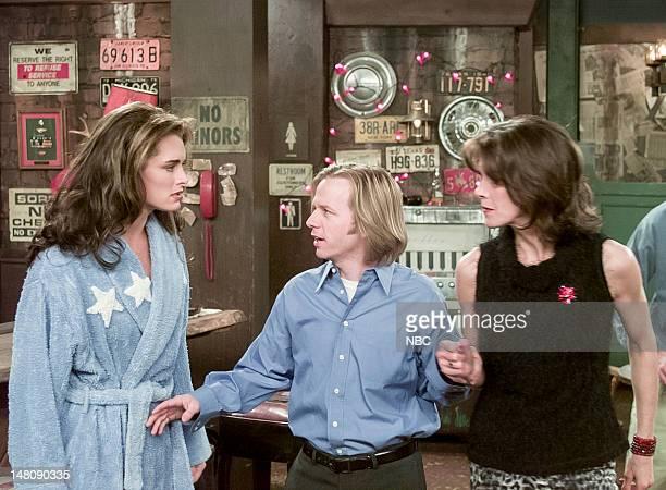 ME 'Erlene and Boo' Episode 18 Pictured Brooke Shields as Erlene David Spade as Dennis Finch Wendie Malick as Nina Van Horn