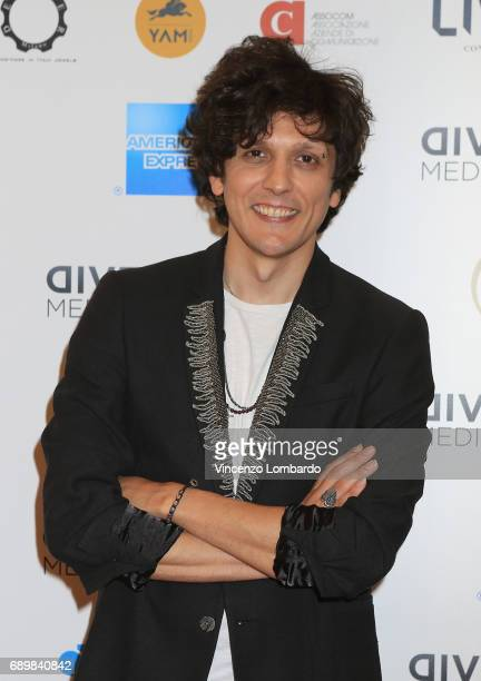 Ermal Meta attends Diversity Media Awards Charity Gala Dinner on May 29 2017 in Milan Italy