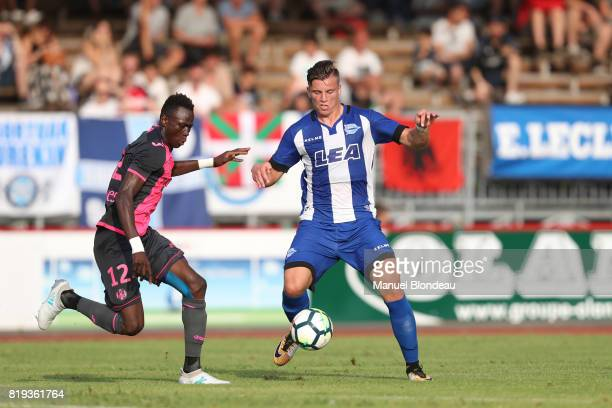 Ermendin Demirovic of Alaves during the friendly match between Toulouse FC and Deportivo Alaves on July 19 2017 in Saint Jean de Luz France