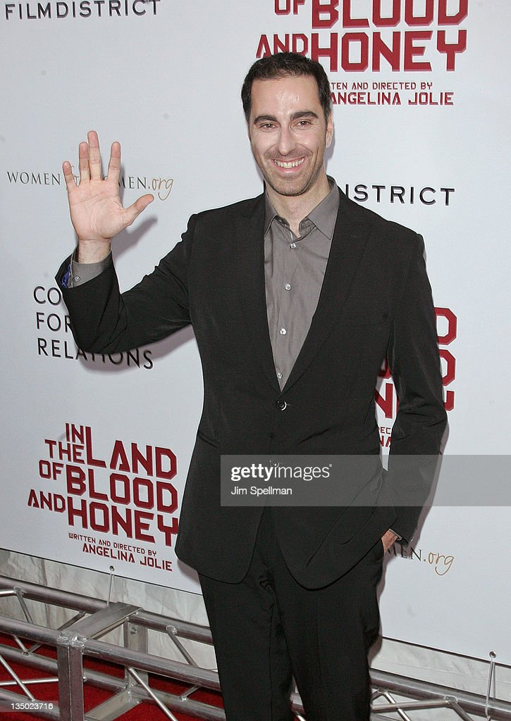 Ermin Bravo attends the premiere of 'In the Land of Blood and Honey' at the School of Visual Arts on December 5, 2011 in New York City.