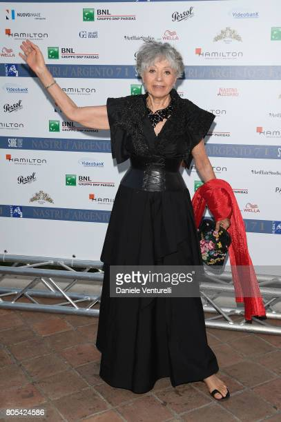 Erminia Manfredi attends Nastri D'Argento 2017 Awards Ceremony on July 1 2017 in Taormina Italy