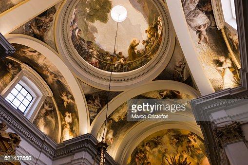 Ermita De San Antonio De La Florida Museum Goya Panteon Goya Frescos Madrid S...
