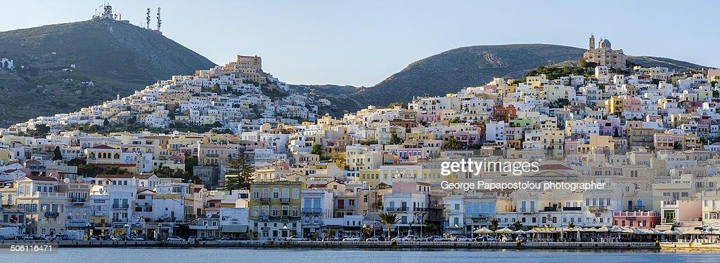 Ermoupoli city Syros