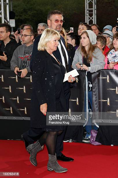 Erna Klum and Guenther Klum attend the German TV Awards 2012 at Coloneum on October 2 2012 in Cologne Germany