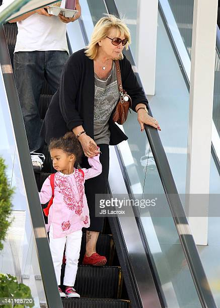 Erna Klum is seen in Brentwood on March 10 2012 in Los Angeles California