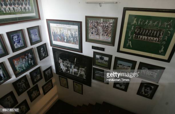 Ernakulam 8th February 2011 The interior's of the Bat and Bowl Inn is lined with many such pictures