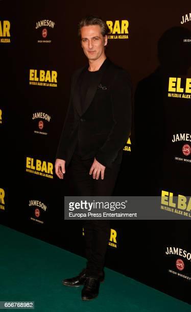 Ernesto Alterio attends 'El Bar' premiere at Callao cinema on March 22 2017 in Madrid Spain