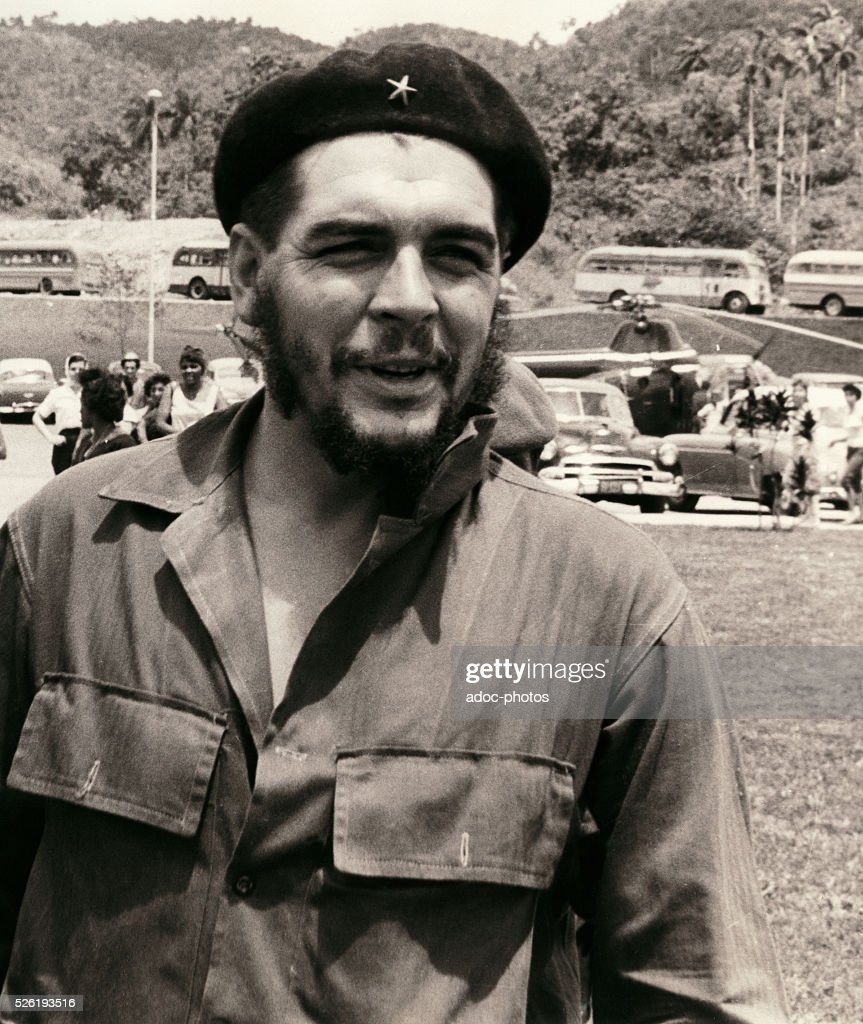 Ernesto <a gi-track='captionPersonalityLinkClicked' href=/galleries/search?phrase=Che+Guevara&family=editorial&specificpeople=67207 ng-click='$event.stopPropagation()'>Che Guevara</a> (1928-1967), Cuban revolutionary of Argentine origin born in Rosario (Argentina). In Soroa in the Pinar del Rio Province (Cuba). In 1961.