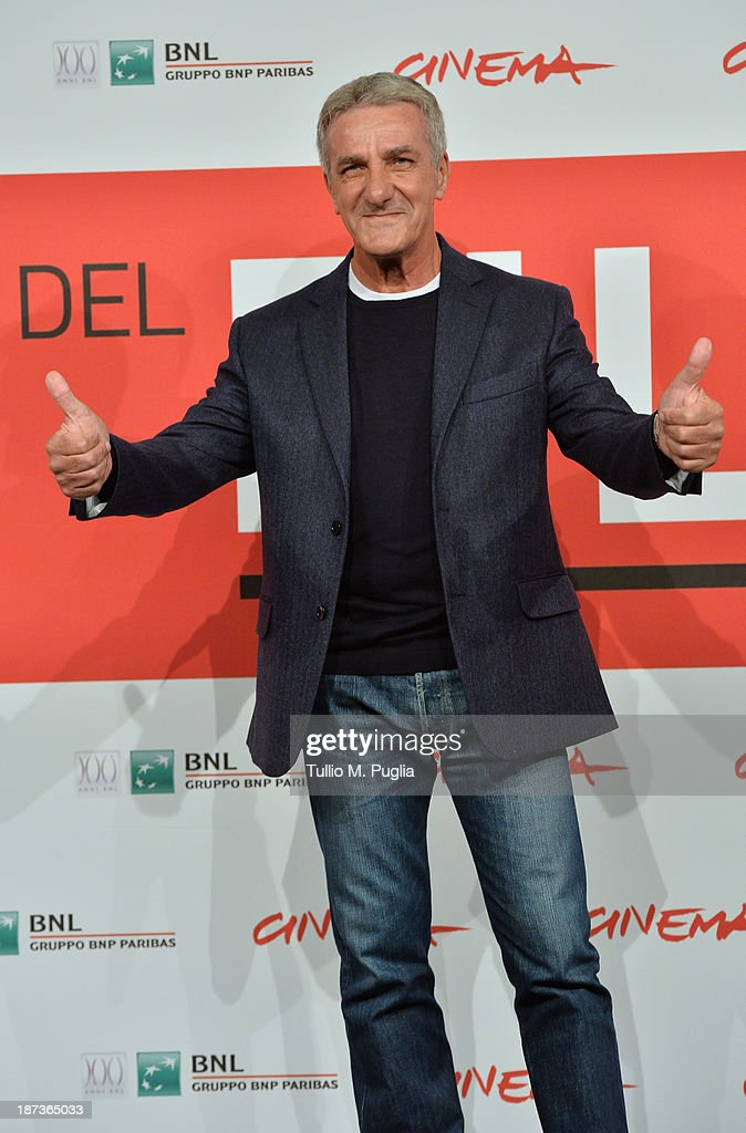 Ernesto Fioretti attends the 'L'Ultima Ruota Del Carro' Photocall during the 8th Rome Film Festival at the Auditorium Parco Della Musica on November 8, 2013 in Rome, Italy.