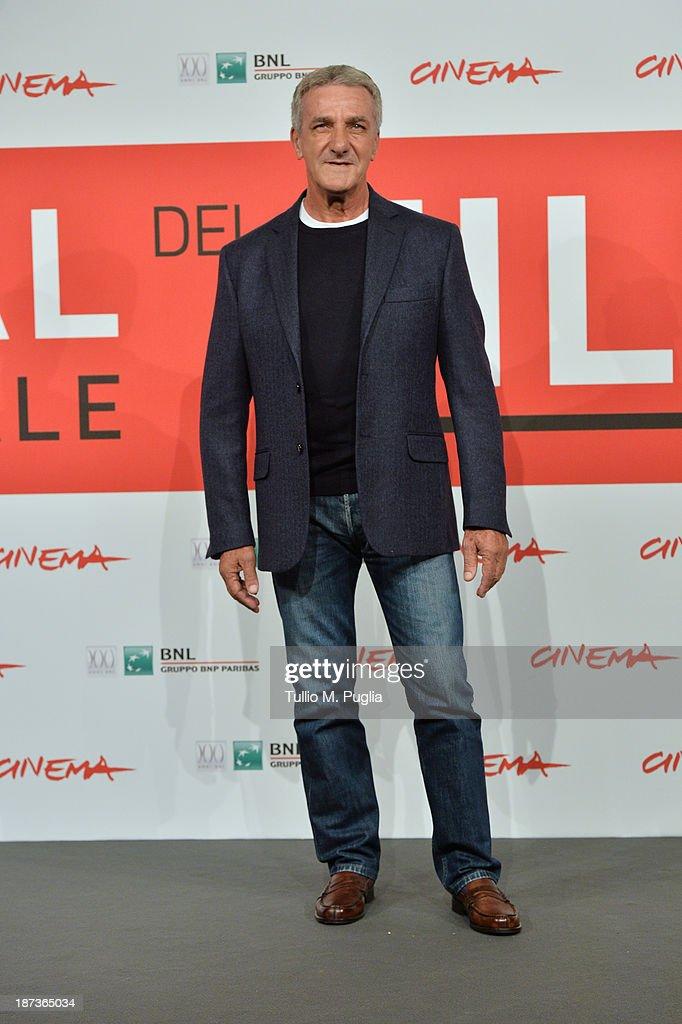 Ernesto Fioretti attends the 'L'Ultima Ruota Del Carro' Photocall during the 8th Rome Film Festival at the Auditorium Parco Della Musica on November 8, 2013 in Rome, Italy.
