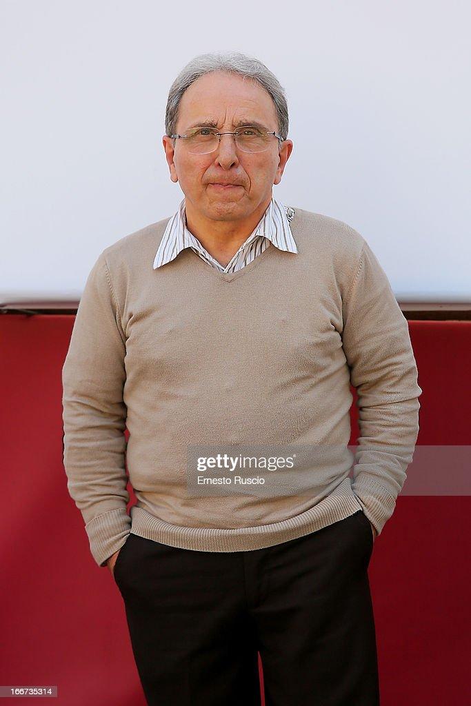 Ernesto Mahieux attends the 'Sono Un Pirata, Sono Un Signore' photocall at Cinema Barberini on April 16, 2013 in Rome, Italy.