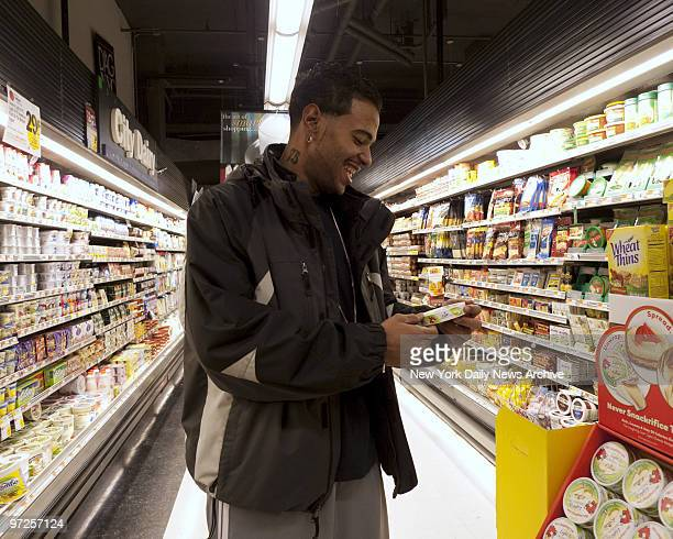 Ernesto Suncar of Manhattan lost 430 pounds after a gastric bypass operation Photographed shopping at a supermarket near his home