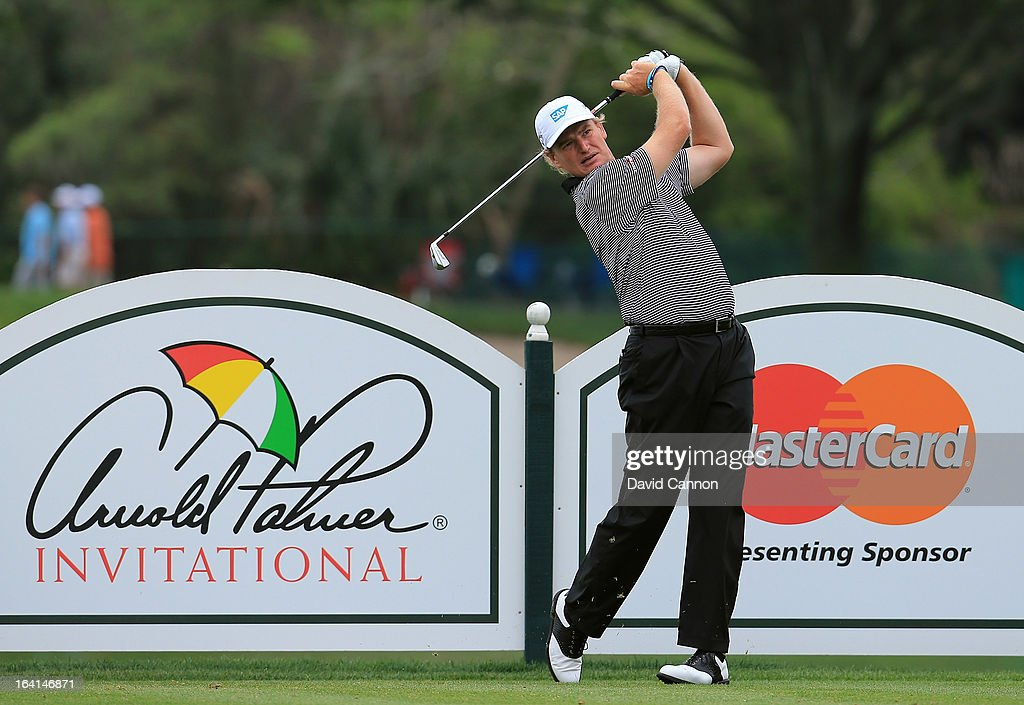 Ernie Els of South Africa during the pro-am for the 2013 Arnold Palmer Invitational Presented by Mastercard at Bay Hill Golf and Country Club on March 20, 2013 in Orlando, Florida.