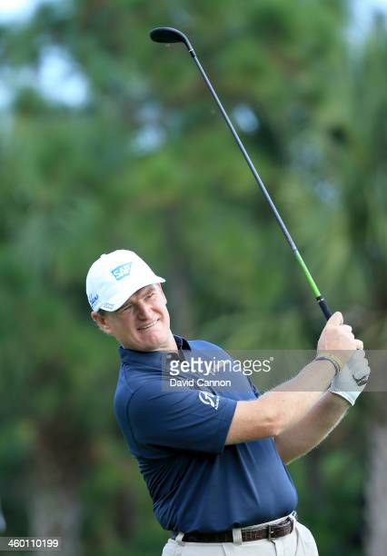 Ernie Els of South Africa has announced a new equipment contract with Adams Golf to play Adams Golf Hybrids and irons Ernie Els is pictured here...