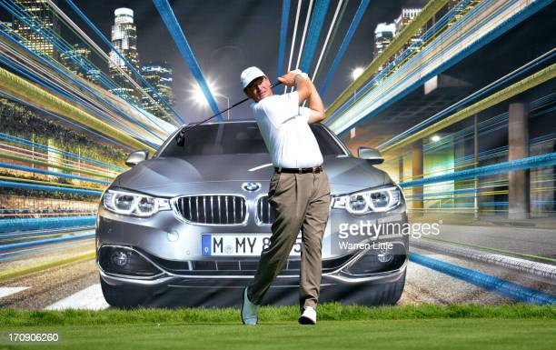 Ernie Els of South Africa in action during the first round of the BMW International Open at Golfclub Munchen Eichenried on June 20 2013 in Munich...