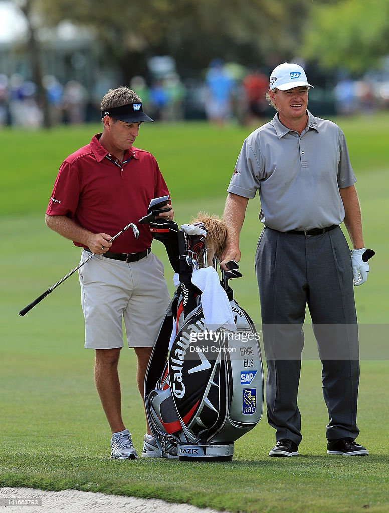 Ernie Els of South Africa in action during the pro-am as a preview for the 2012 Arnold Palmer Invitational presented by MasterCard at Bay Hill Club and Lodge on March 21, 2012 in Orlando, Florida.