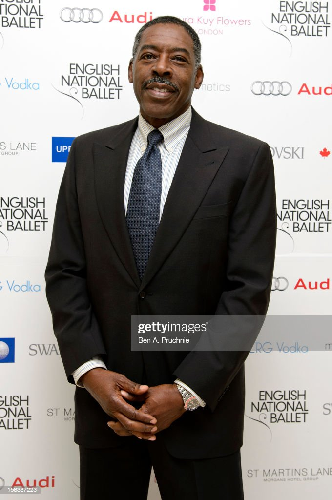 Ernie Hudson attends the English National Ballets' Christmas Party at St Martins Lane Hotel on December 13, 2012 in London, England.