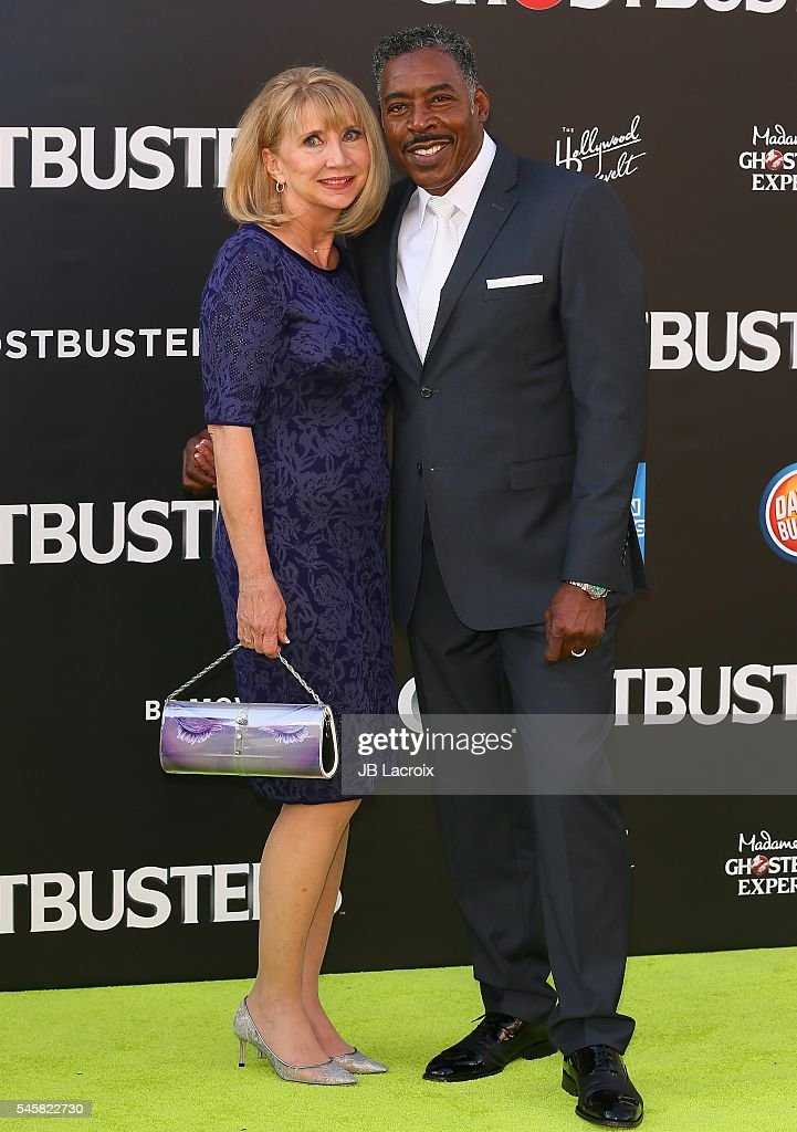 Ernie Hudson attends the premiere of Sony Pictures' 'Ghostbusters' on July 9 2016 in Hollywood California