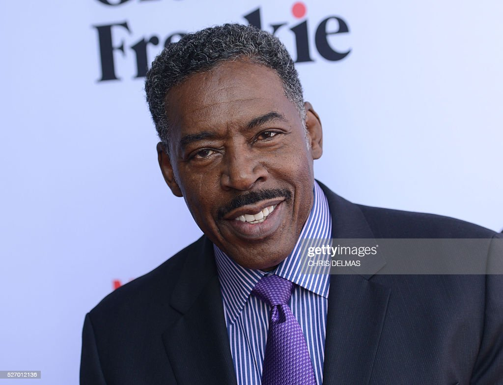 Ernie Hudson attends the Season 2 Premiere of Grace and Frankie in Los Angeles, California, on May 1, 2016. / AFP / CHRIS